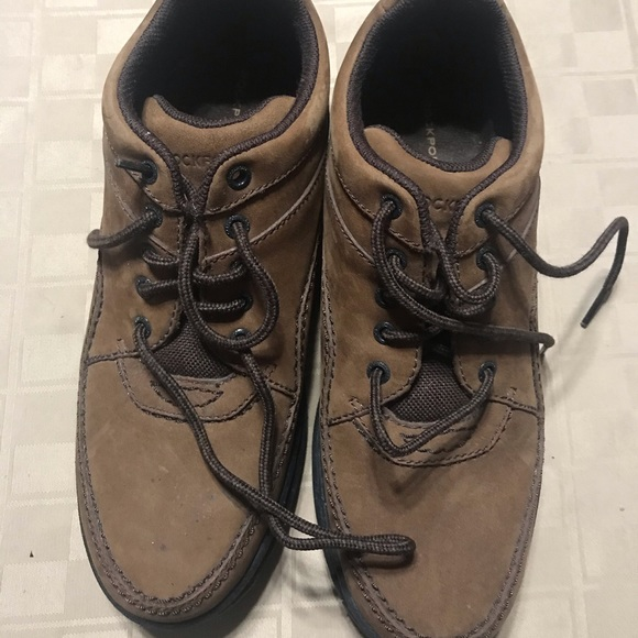 Rockport Shoes - Rockport Shoes Womens Size 9 M Brown Suede Walking
